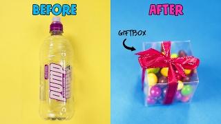 10 PLASTIC BOTTLES LIFE HACKS YOU SHOULD KNOW!! DIY
