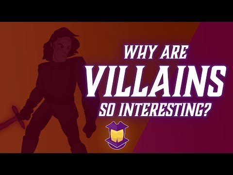 Why Are Villains So Interesting? (& What Can We Do About Hero Characters?)