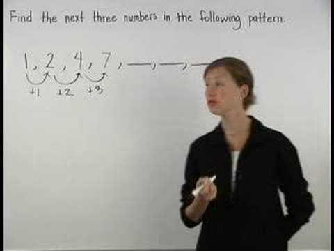 Number Patterns - MathHelp.com - Math Help