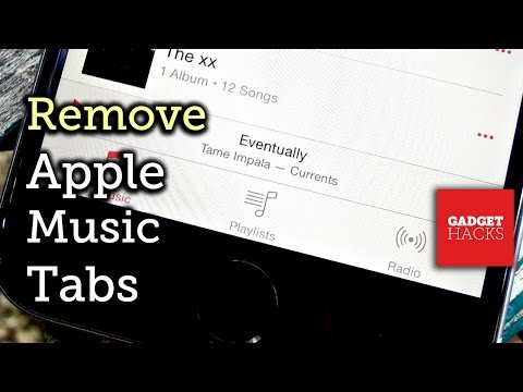 Remove the Apple Music & Connect Tabs from iOS 8.4's Music App [How-To]