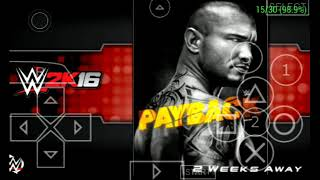 5 Cool features ofWWE 2K16 PSP modby Crocox111 thatyou won't get on