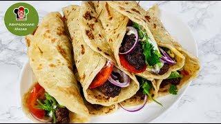 Paratha Kabab | پراته با شامی کباب داشی