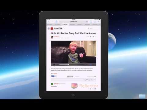 Full Screen on iPad Tutorial