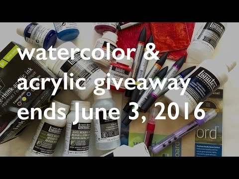 [ENDED] $300 Art Supplies Giveaway