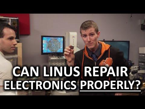 Linus Attempts BGA Graphics Chip Repair! - Rossmann Repair Group, New York City