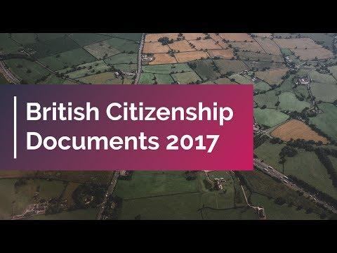 British Citizenship Documents 2017 | UK Citizenship