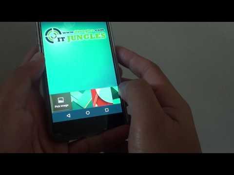 Google Nexus 5: How to Change Background Wallpaper