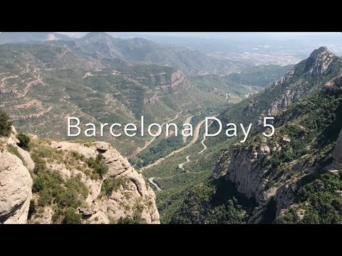 EXPLORING MONTSERRAT BARCELONA AND THE BLACK MADONNA | BARCELONA TRAVEL VLOG 6/7 | Vlog 23
