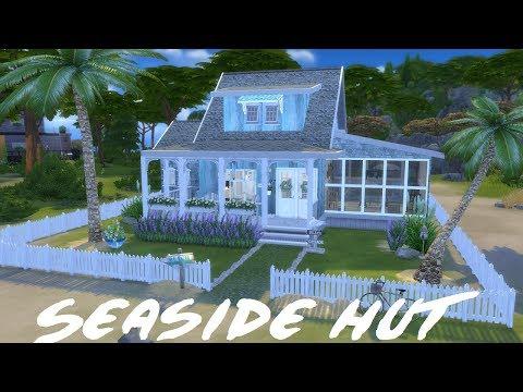 The Sims 4: Speed Build - Beach House  / WITH CC LINKS
