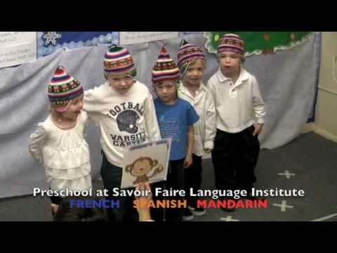 2008 preschool in French Spanish and Mandarin Chinese
