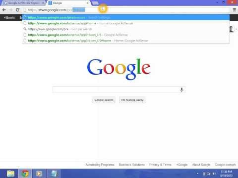Google Safe Search Turn OFF