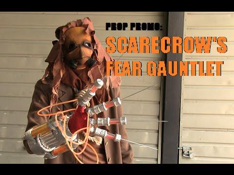 Prop Promo: Scarecrow Fear Toxin Glove--Arkham Asylum