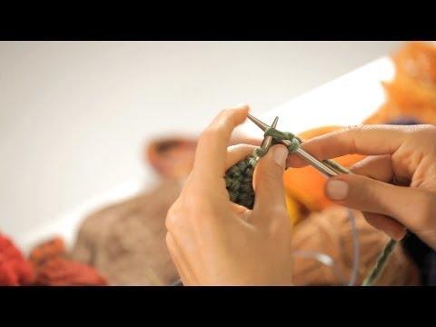 Join the Round Using 2 Circular Needles | Circular Knitting
