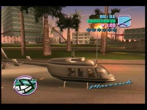 GTA vice city: how to get a helicopter with cheats - (GTA vice city helicopter cheats) - PARODY