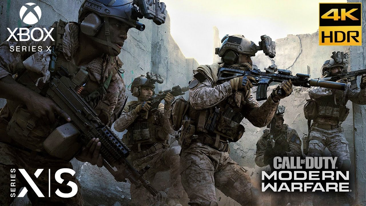 Call of Duty: Modern Warfare [Xbox Series X 4K HDR 60FPS] The Embassy Realism Gameplay