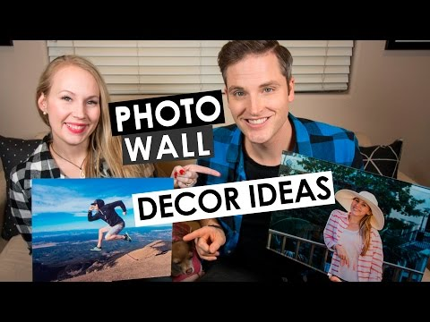 Wall Decoration Ideas — 4 Home Decor and Wall Picture Ideas