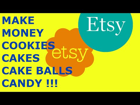 How to Start an Etsy Shop Series Selling Cake balls cookies Candy Edible products