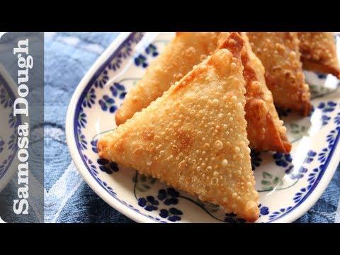 Samosa Dough Recipe (Sambusa pastry, sambousek wrappers)