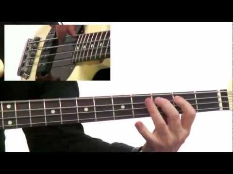 50 Bass Grooves - #24 Church in the House - Bass Guitar Lesson - David Santos
