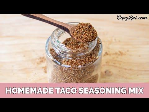 Salt - Free Homemade Taco Seasoning Mix