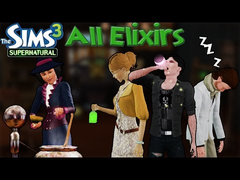 The Sims 3 Supernatural: All Elixirs