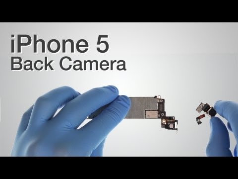 Back Camera Repair - iPhone 5 How to Tutorial