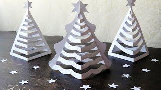 Hattifant - 3D Paper Christmas Trees