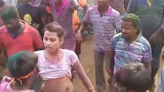 Hot village dance, Telugu hijra recording dance