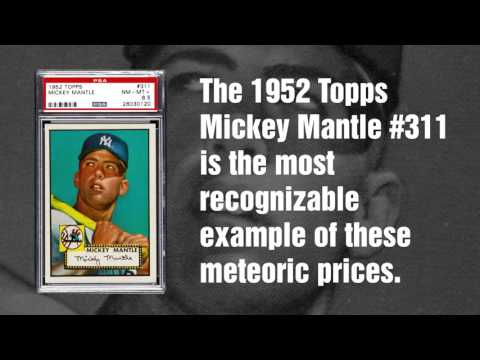 The Meteoric Rise of the 1952 Topps Mickey Mantle