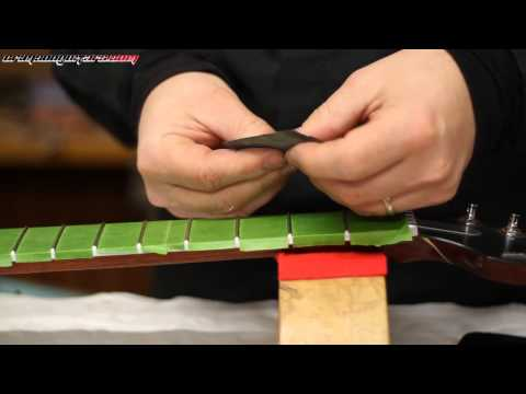 sygil guitar refurb pt 3 - how to polish frets for perfect playability