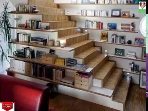 Super creative under stairs storage ideas – shelves and cabinet design