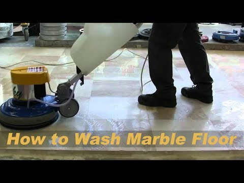 How to Clean Marble Table??