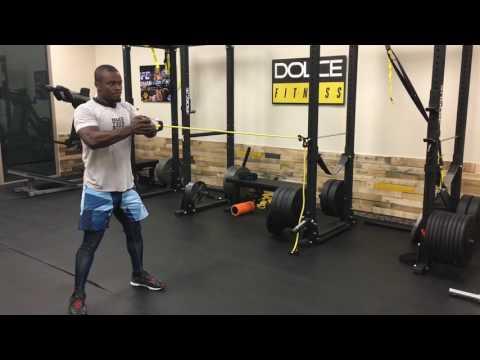 UFC Welterweight Razak Alhassan's Core Workout