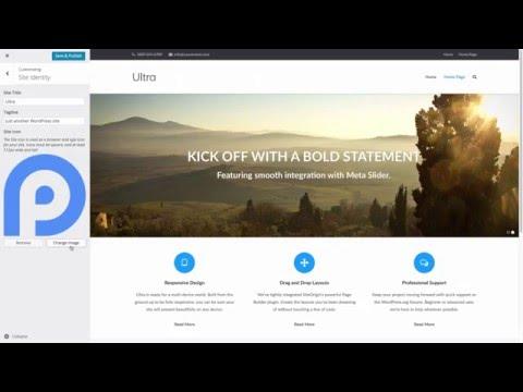 Add a Favicon (Site Icon) to WordPress via the Customizer