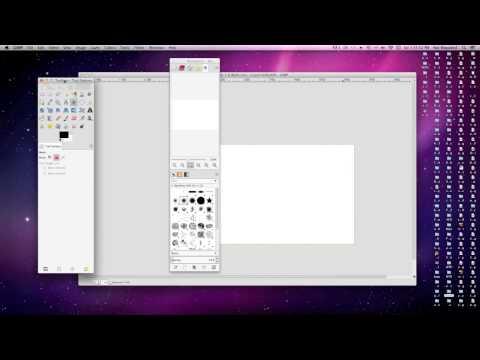 Use single window mode in Gimp