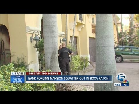 Boca Raton mansion squatter update