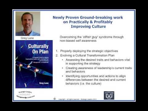 Organizational Cultural Change