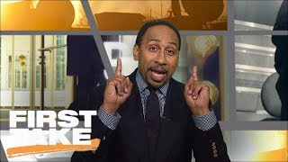 Stephen A. Smith Goes Berserk Defending Nick Saban | First Take | ESPN