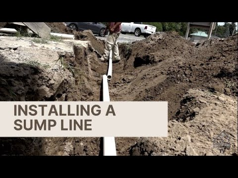 How to Properly Install a Sump Line