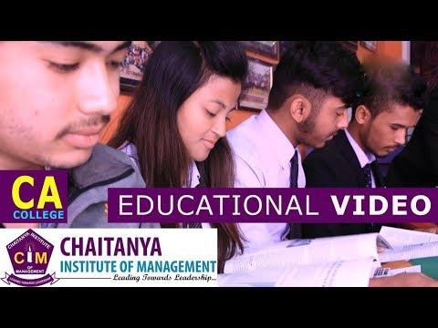 CA College in Nepal | Chaitanya Institute of Management | Educational Video | Shankhamul, Kathmandu
