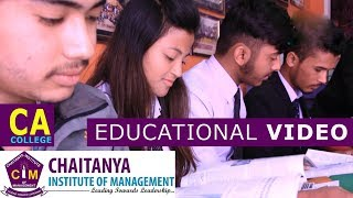 Ca College In Nepal | Chaitanya Institute Of Management | Educational Video | Shankhamul, Kathmandu