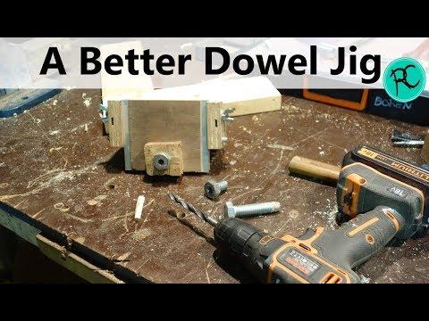 Improving My Universal Dowel Jig - Guide Bushings
