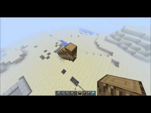 Minecraft Quick Build Diamond Pickaxe Statue