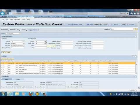 SAP AS JAVA System monitoring