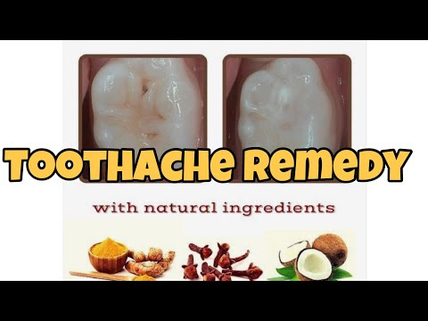 Kill Tooth Pain Nerve In 3 Seconds Permanently With This Tooth ache remedy