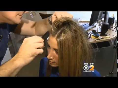 Hair loss because of stress