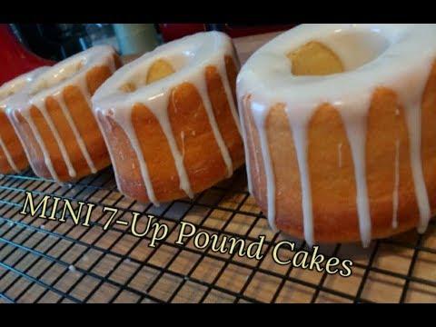 MINI Homemade 7-Up Pound Cakes RECIPE / HOW TO MAKE A 7-UP POUND CAKE / Kiwanna's Kitchen