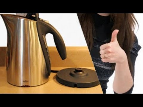 How to clean electric kettle,  DIY