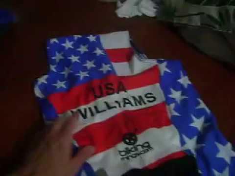 USA flag Custom Tri Suit By Bikingthings