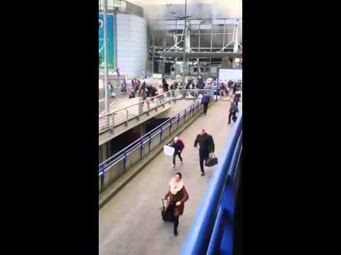 Brussels Zaventem airport blast